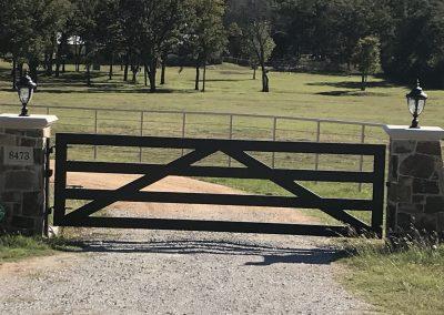 Basic rail gate